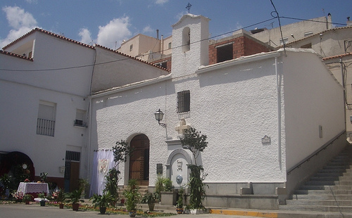 Altar en la Cruz de San Juan