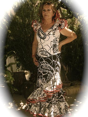Nuevo vestido coro rociero abla