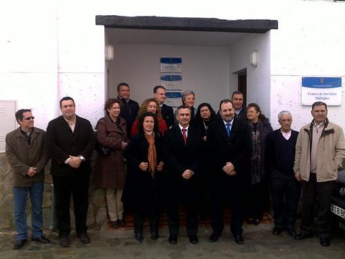 Inauguración Edificio Servicios Múltiples de Diputación de Almería en Abla