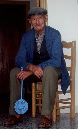 Anciano en Abla