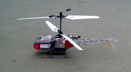 Abla helicóptero