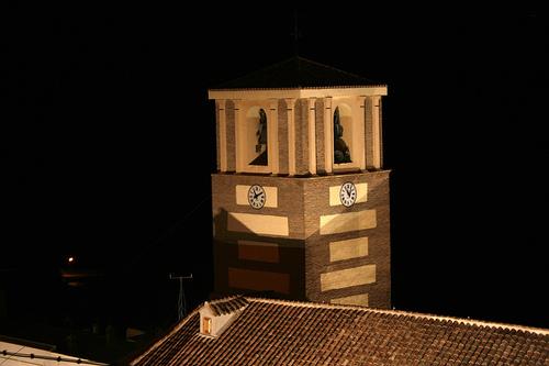 Abla torre iglesia