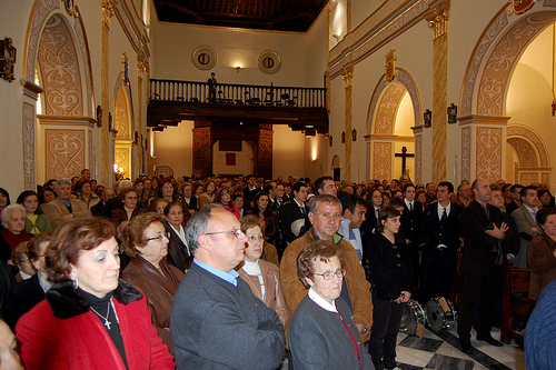 Interior de la Iglesia de Abla