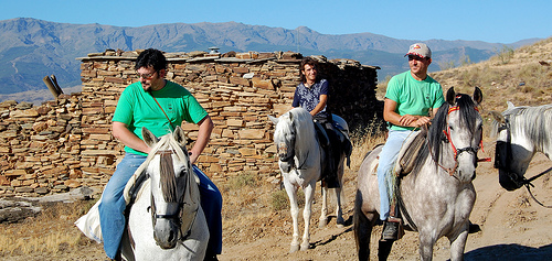 Abla cabalga caballos
