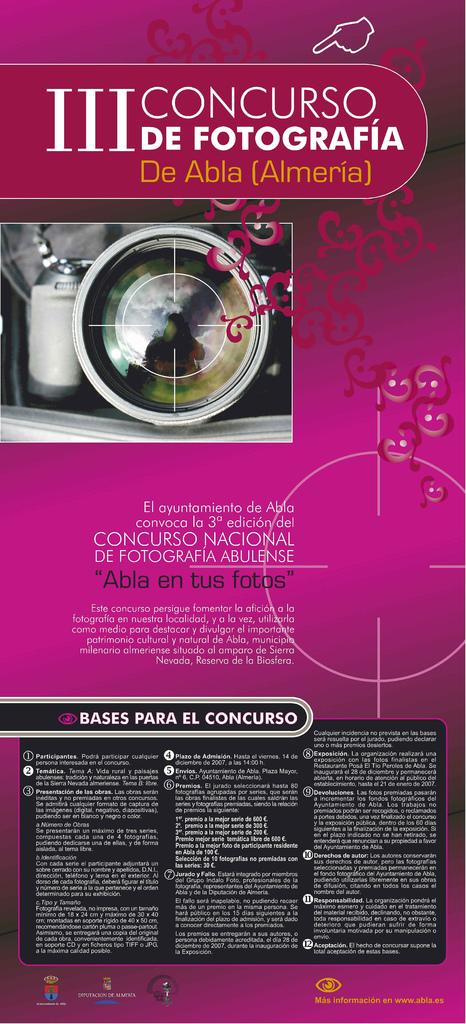 Concurso fotografía Abla