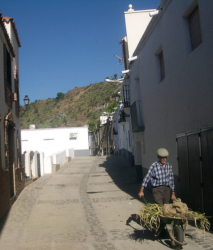 Calle Albaycín de Abla