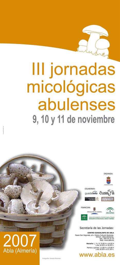 Abla jornadas micológicas micoabla